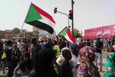 Protests in Khartoum (file photo).