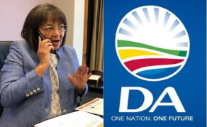 Sorry Not Sorry - Democratic Alliance, De Lille Square Off Again