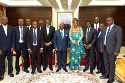Le président de la Banque africaine de développement, Akinwumi Adesina, a entamé sa première visite officielle en République du Congo, le vendredi 10 mai 2019, par une session interactive avec les membres du gouvernement, élargie aux partenaires au développement, aux diplomates, ainsi qu'aux acteurs clés du secteur privé.