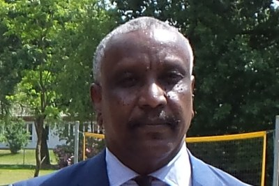 Yasir Arman, deputy leader the Sudan People's Liberation Movement - North (SPLM-N) at the annual Sudan and South Sudan conference in Hermannsburg, Germany in 2015.