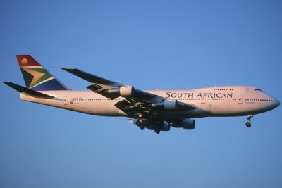 Un avion de la compagnie South African Airways (SAA).