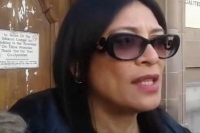Video screenshot of Karima Brown.