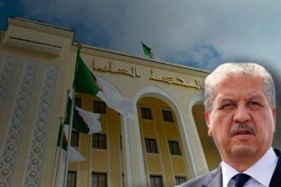 L'ancien Premier ministre, Abdelmalek Sellal
