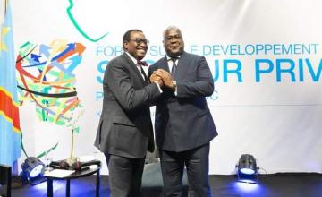 Visite officielle du président de la BAD en RDC