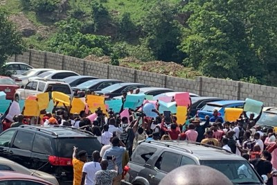 Church of Zion Assembly protests in Abuja