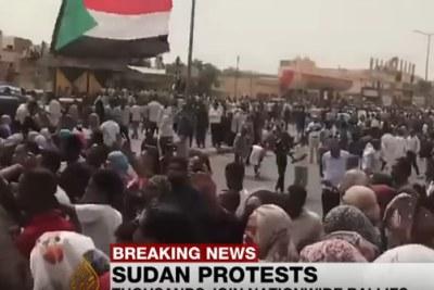 Des dizaines de milliers de manifestants ont envahi les rues de Khartoum et ailleurs dans le cadre de rassemblements de masse organisés le 30 juin 2019.