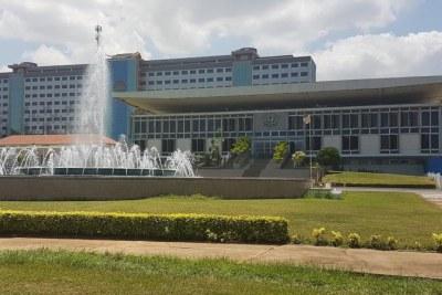 Le Parlement ghanéen à Accra