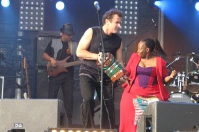 Johnny Clegg in 2007.