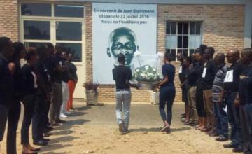 Disparition du journaliste burundais Bigirimana - 3 ans déjà