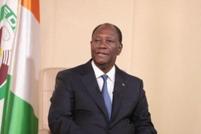 Le Président de la République, Alassane Ouattara
