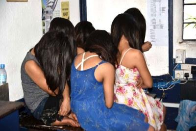 Nepalese women arrested in Kenya's coastal town of Mombasa as police investigate international human trafficking. (File photo)