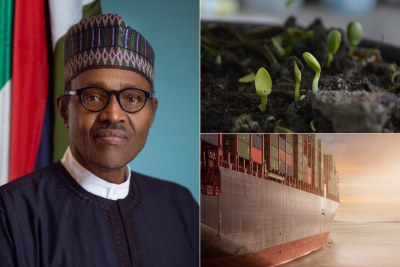 President Muhammadu Buhari tells central bank not to fund food imports.