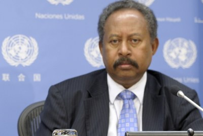Abdalla Hamdok when he served as deputy executive secretary of the UN Economic Commission for Africa.