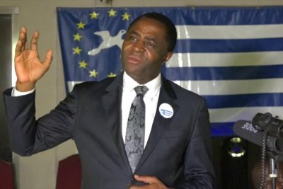 Le leader séparatiste anglophone Julius Ayuk Tabe.