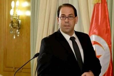 Youssef Chahed, chef du gouvernement tunisien et candidat à l'élection présidentielle du 15 septembre 2019