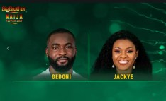 Gedoni and Jackye Booted Out of Big Brother Naija