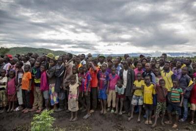 Des réfugiés burundais dans le camp de Mulongwe au Sud-Kivu, en République démocratique du Congo (photo d'archives).