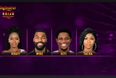 Tacha, Khafi, Mike and Seyi are up for eviction.