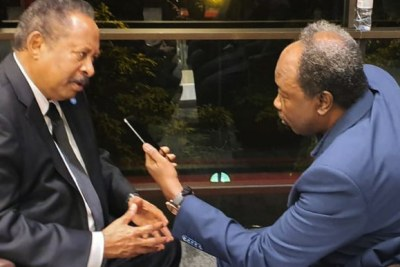 Sudan's Prime Minister Abdallah Hamdok speaks to Radio Dabanga Editor-in-Chief Kamal El Sadig in Paris.