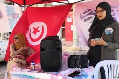 Femmes tunisiennes.