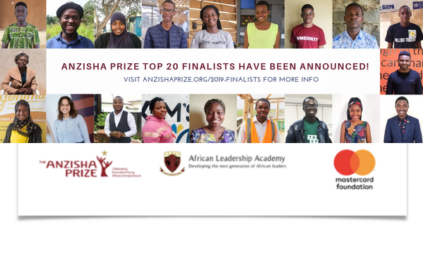 Anzisha Prize Will Honor 20 Young African Entrepreneurs   Oct 22
