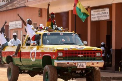 Bafata, le 7 mars 2019. Des partisans du Madem en campagne pour les élections législatives. (immage d'illustration)
