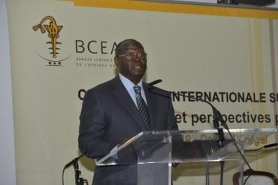 M. Tiémoko Meyliet Koné, Gouverneur de la Banque Centrale des Etats de l'Afrique de l'Ouest (Bceao)