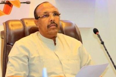 Ousted Puntland speaker Abdihakim Dhoobo Daareed