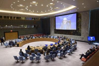 Le Représentant spécial des Nations Unies pour la Libye, Ghassan Salamé, informe le Conseil de sécurité des Nations Unies sur la situation en Libye - (4 septembre 2019)