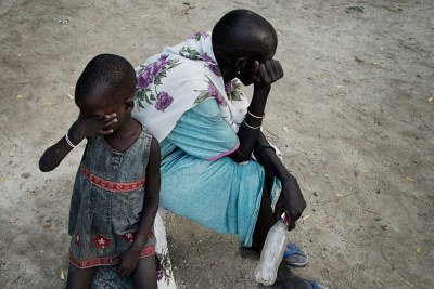 Mother and daughter in Unity State, South Sudan (file photo).