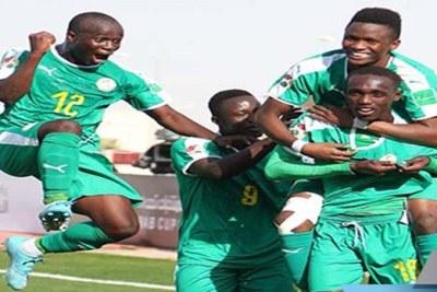 L'équipe nationale U20 du Sénégal