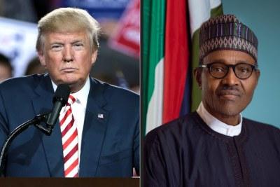 COVID-19 - Trump calls Buhari, promises to give Nigeria ventilators.