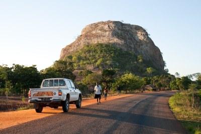 A scene in Cabo Delgado province.