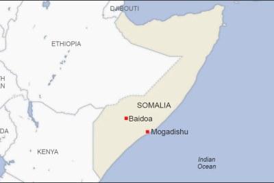 Mogadishu and Baidoa Somalia
