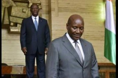 Ivorian vice president resigned for personal reasons.