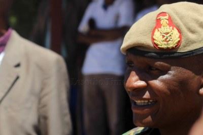 Former Commander of the Lesotho Defence Force Tlali Kamoli (file photo).