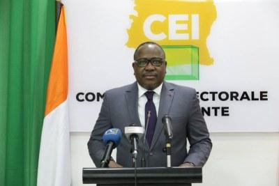 M COULIBALY-KUIBIERT IBRAHIME, Président de la Commission Electorale Indépendante