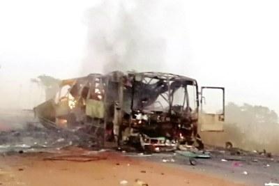 Explosion d'un car au Burkina Faso