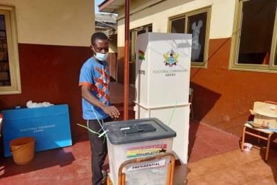 Voting in Ghana