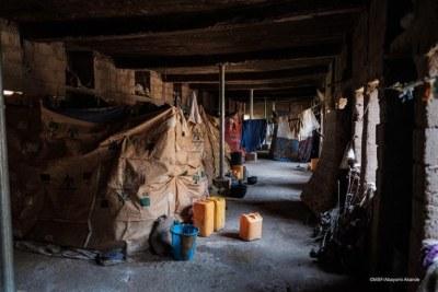 Site de personnes déplacées d'Anka dans l'État de Zamfara. Nigeria. 2020.