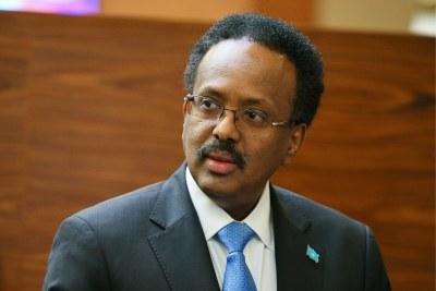 Président somalien Mohamed Abdullahi Mohamed