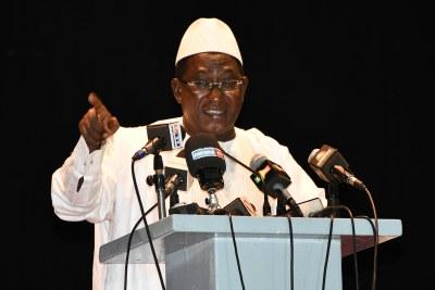 Soumaila Cissé, chef de l'opposition parlementaire de l'Union pour la république et la démocratie
