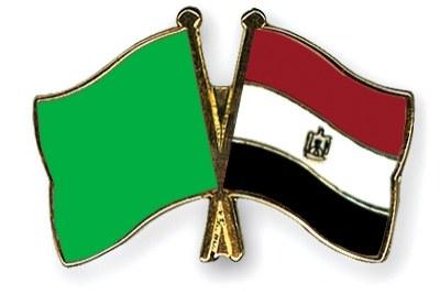 Pin's de l'amitié aux drapeaux libyen et égyptien