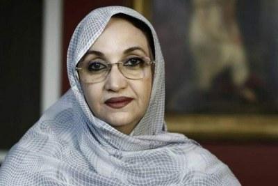 La militante sahraouie des droits humains, Aminatou Haidar