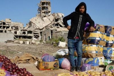 Ville de Benghazi (photo d'archive).