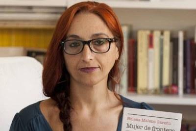 Helena Maleno, militante espagnole des droits des migrants, également fondatrice de l'ONG espagnole Caminando Fronteras