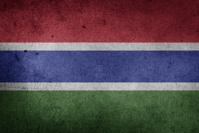 Flag of Gambia.