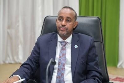 Mohamed Hussein Roble, Premier Ministre de la Somalie