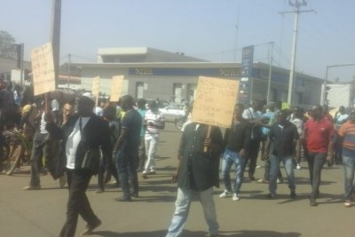 Marche de protestation à Abobo du Collectif des victimes de la crise post-électorale