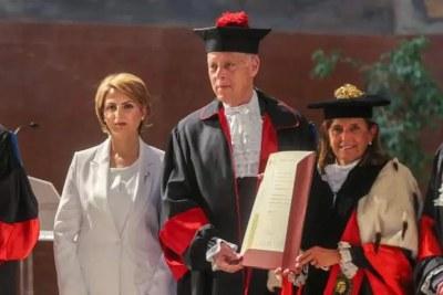 Kais Saied reçoit un doctorat honoris causa à Rome
